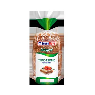 Pão Integral Trigo e Linho