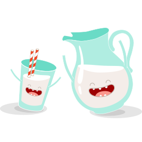 Personagem - Milk Pan