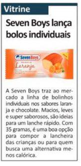 Seven Boys lança bolos individuais