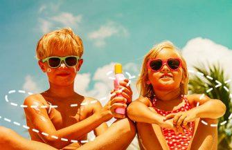 Verão: Saiba como proteger a pele das crianças do sol