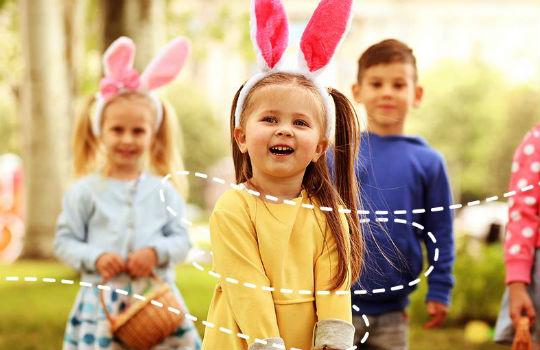 Cinco brincadeiras para fazer com as crianças na Páscoa