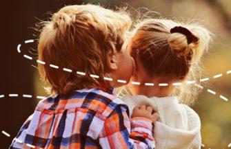 Namoro na infância? Descubra porque não é uma brincadeira saudável