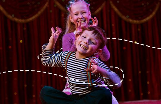 Mais de dez razões para colocar as crianças no curso de teatro