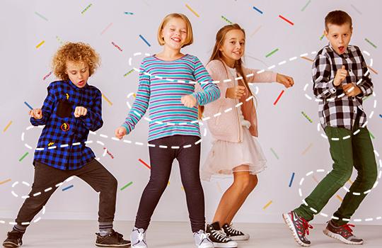 Três tipos de dança indicados para crianças