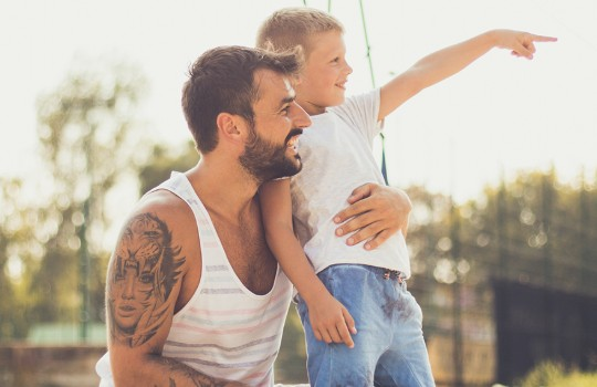 Cinco ideias de presentes feitos pelas crianças para o Dia dos Pais