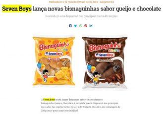 Seven Boys lança novas bisnaguinhas sabor queijo e chocolate