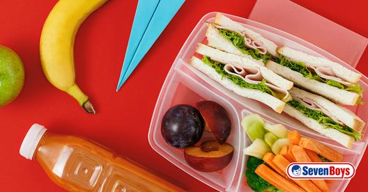 Ideias nutritivas e rápidas para a hora do lanche.