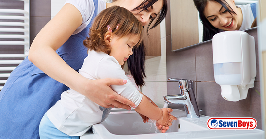 Cuidados para a família toda: saiba porque e como lavar as mãos antes das refeições