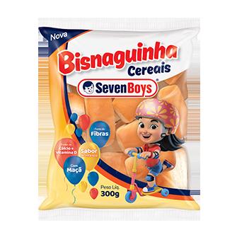 BISNAGUINHA SEVEN BOYS CEREAIS