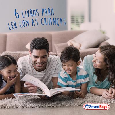 6 livros para ler com as crianças