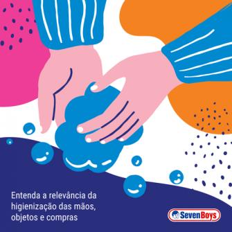 Entenda a relevância da higienização das mãos, objetos e compras