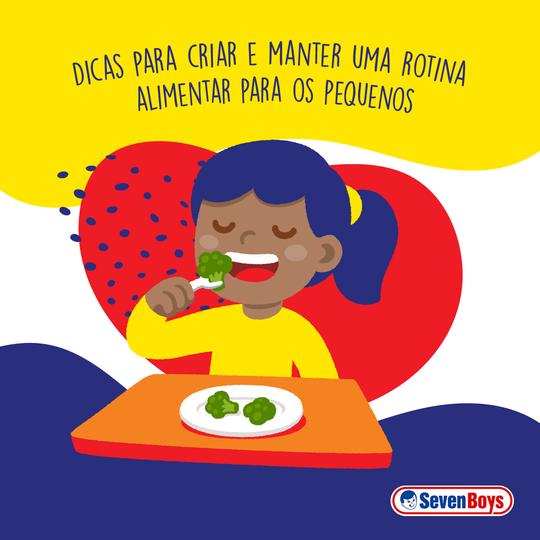 Aprenda a criar um quadro de rotina infantil para alimentação